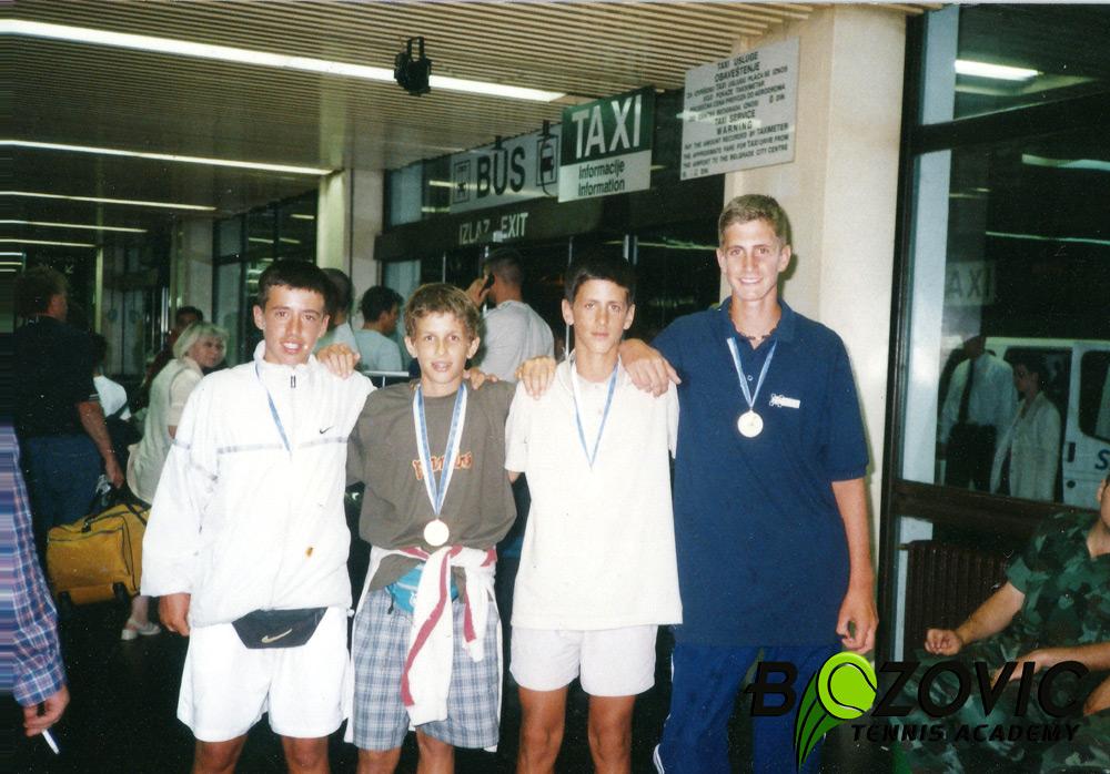 Novak Djokovic As Kid Talk Tennis